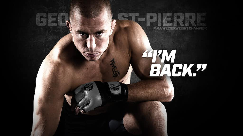 Georges St-Pierre Announces Official UFC Return