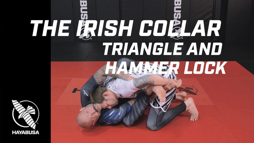 Ground Fight Series - The Irish Collar - Triangle and Hammer Lock - No-Gi, Jiu Jitsu, Grappling