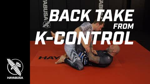 Ground Fight Series - Back Take from K-Control - No-Gi, Jiu Jitsu, Grappling
