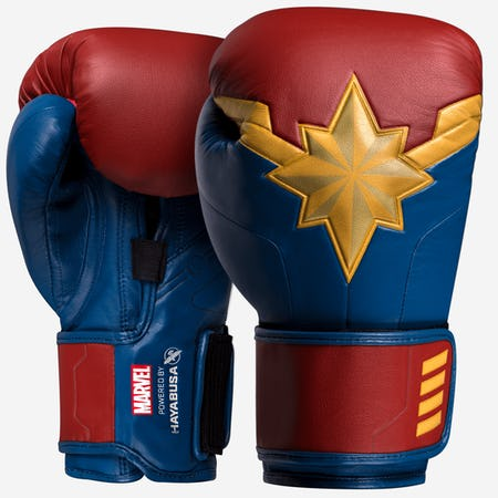 Hayabusa Captain Marvel Boxing Gloves