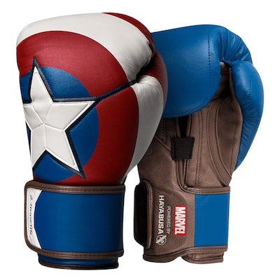 Hayabusa Captain America Boxing Gloves