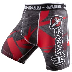 Metaru 47 Silver Compression Shorts
