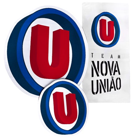 Nova União - Jiu Jitsu Gi Patch Kit