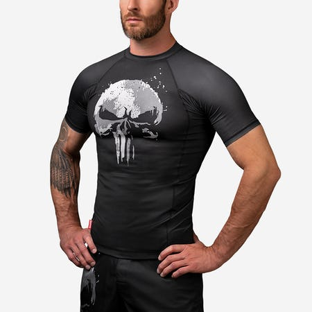 The Punisher Short Sleeve Rash Guard