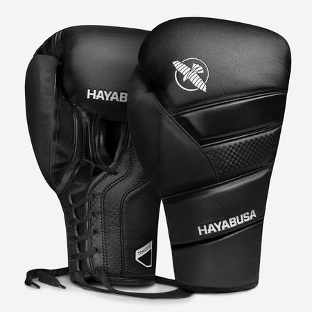 Hayabusa T3 Lace Up Boxing Gloves