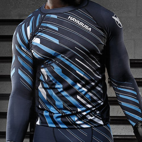Metaru Charged Special Edition Blue Longsleeve Compression