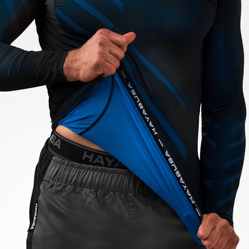 Odor Resist Compression Rash Guard SS