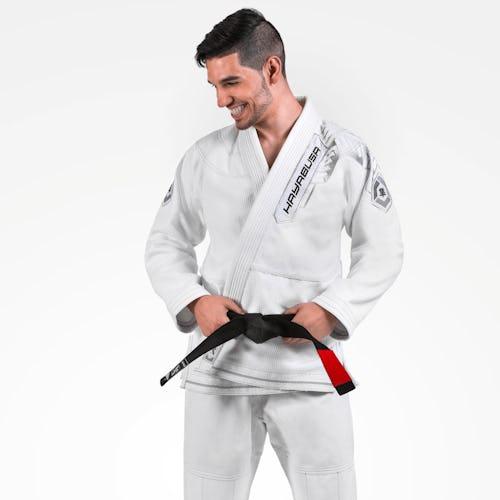 Gold Weave Warrior Jiu Jitsu Gi